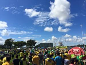 Manifestação do dia 12 de abril em Brasília (DF)